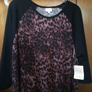 NWT Animal Print Lularoe Randy